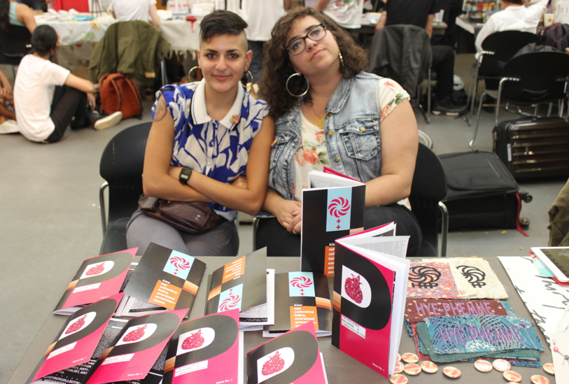 Hye-Phen Collective at NYC Feminist Zine Fest 2016 (image by and courtesy Shakar M.)
