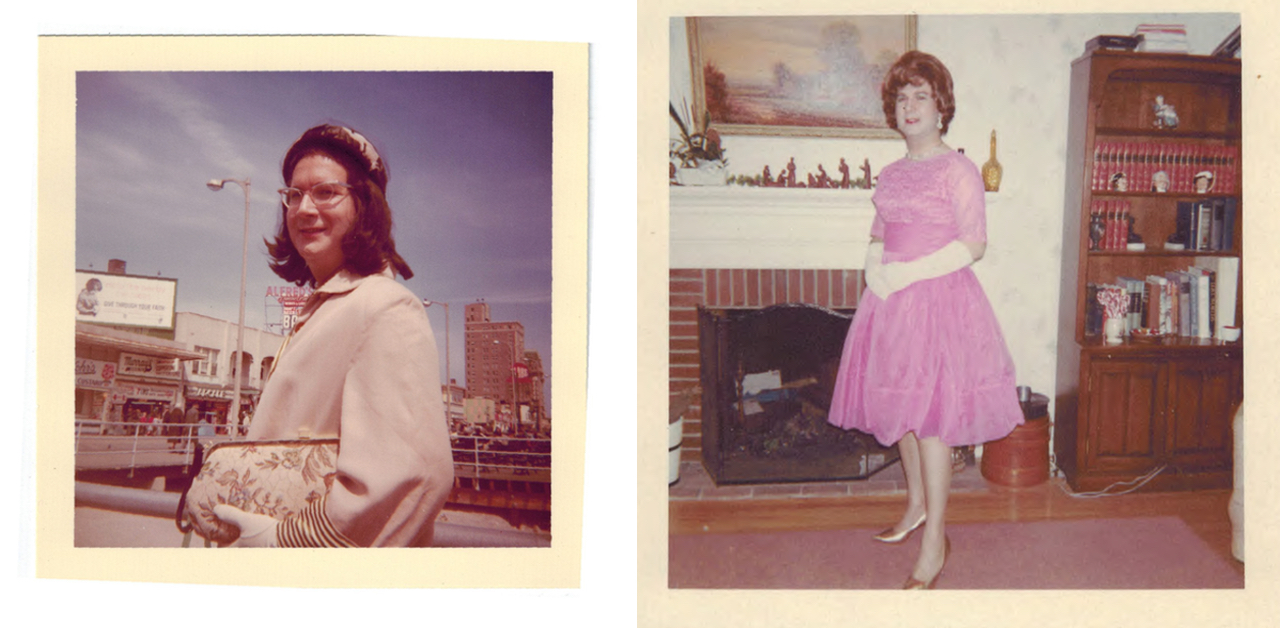 Photos from Alison Laing's early photo album (courtesy Joseph A. Labadie Collection, University of Michigan and Digital Transgender Archive)