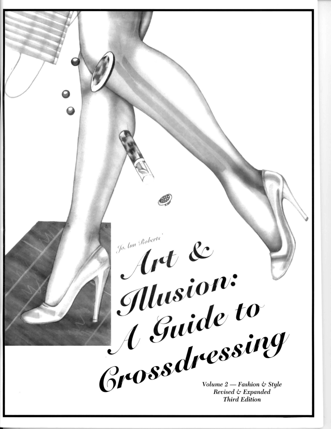 """Cover of """"Art & Illusion: A Guide to Crossdressing, Vol. 2"""" (2000) (courtesy Transgender Archives, University of Victoria and Digital Transgender Archive)"""