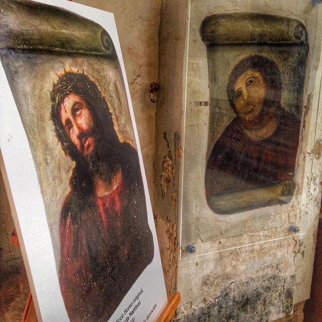 """""""Beast Jesus"""" and its former self (photo via @oortin/Instagram)"""