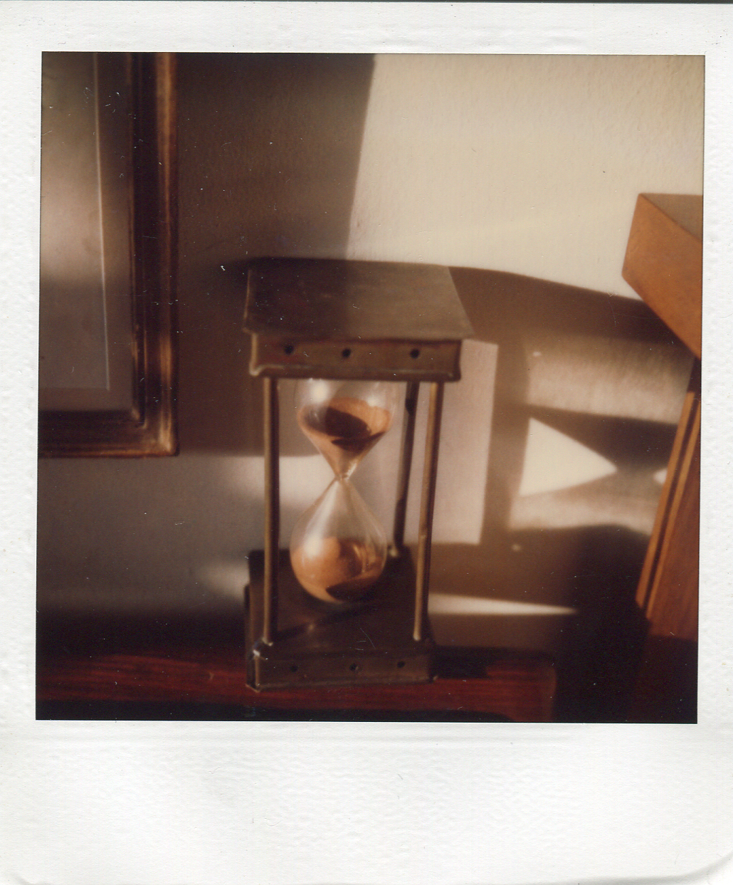 "André Kertész, ""April 20"" (1980), SX-70 Polaroid, 4.25 x 3.5inches (courtesy Ricco/Maresca Gallery)"