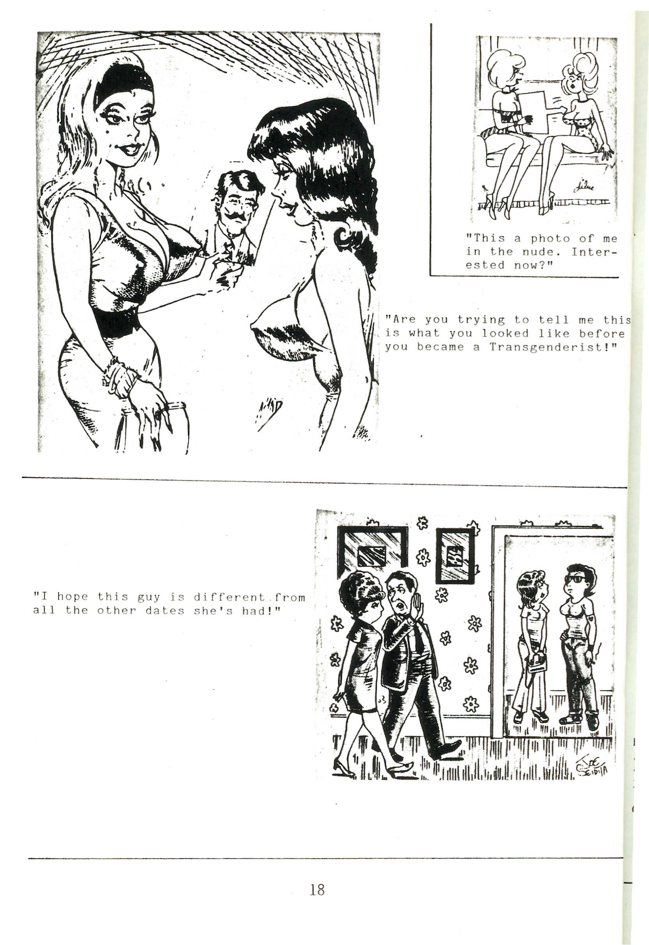 A page from a September 1986 issue of Fanfare Magazine (courtesy Gender DynamiX )