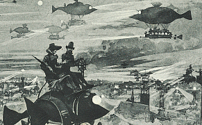 Post image for Airships and Reanimated Corpses from the Pages of Early Science Fiction