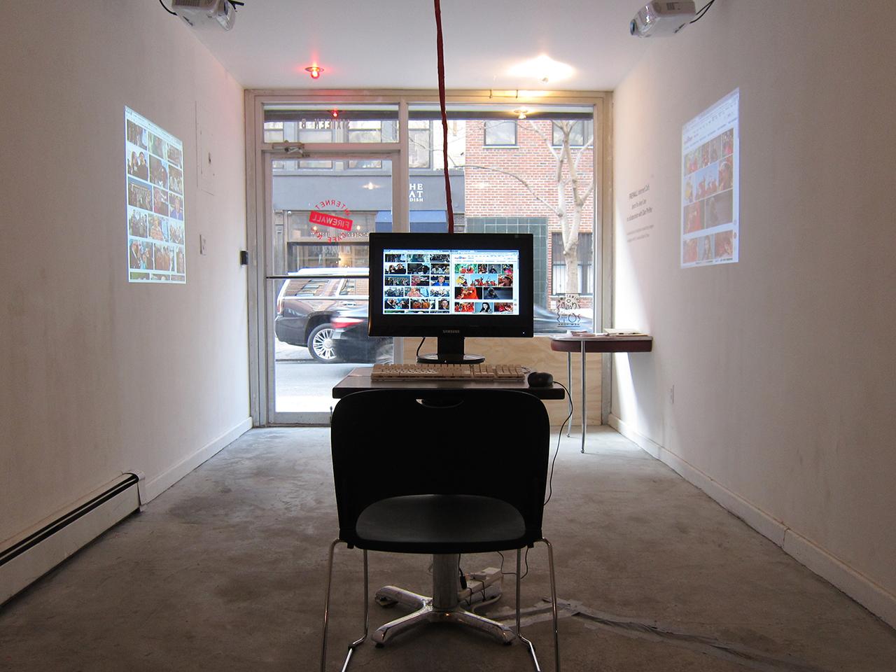 Inside FIREWALL Internet Cafe