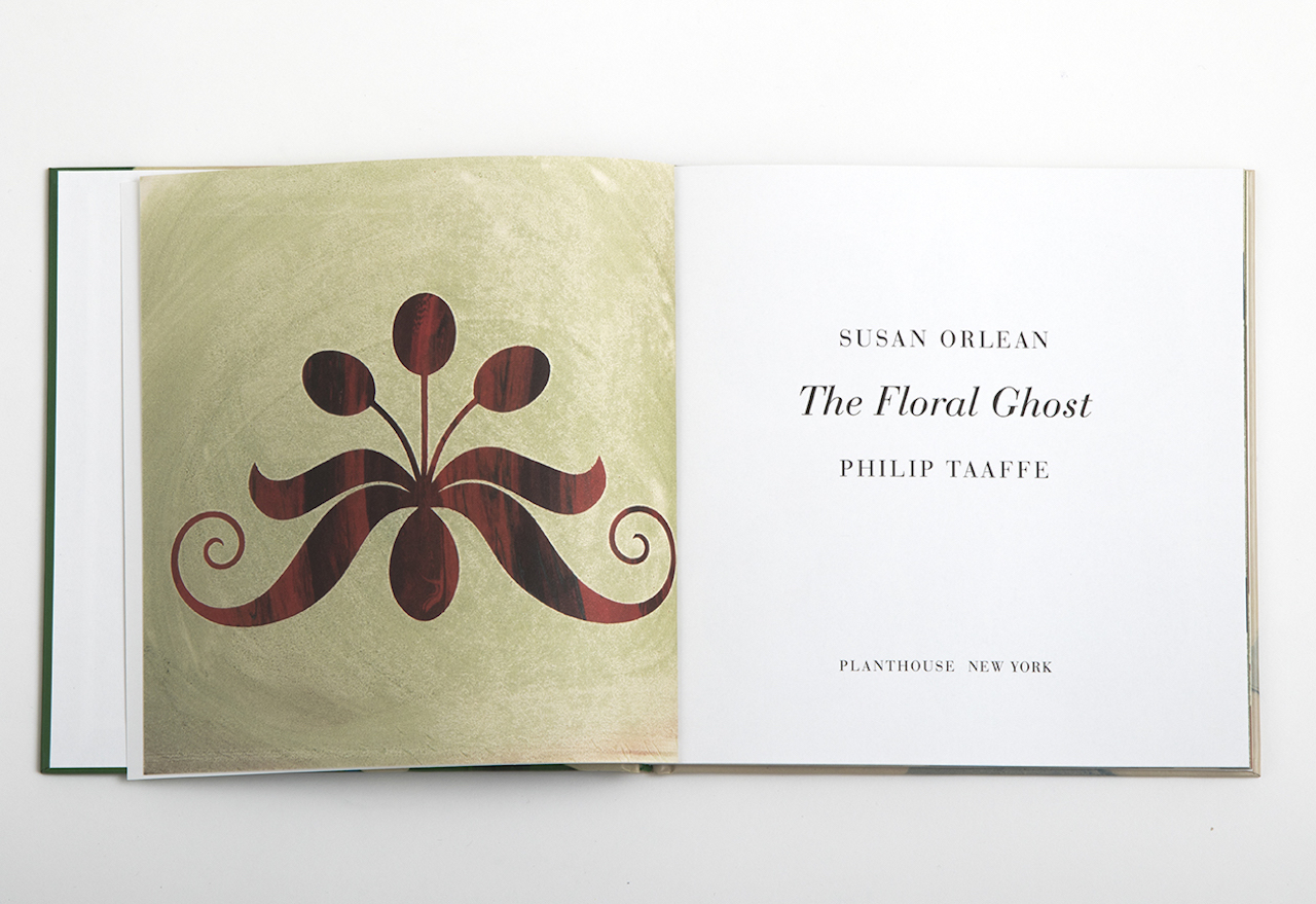 Pages from 'The Floral Ghost' (courtesy Planthouse)