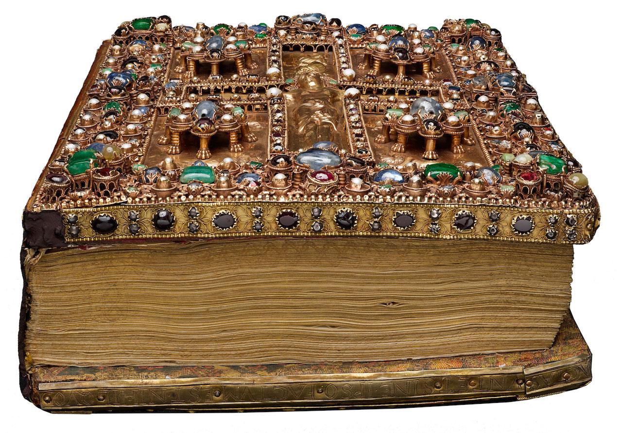 Lindau Gospels (courtesy Morgan Library & Museum)