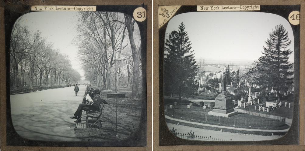 Views of Central Park and Greenwood Cemetery from 1888 (© 2013 Richard Crangle)