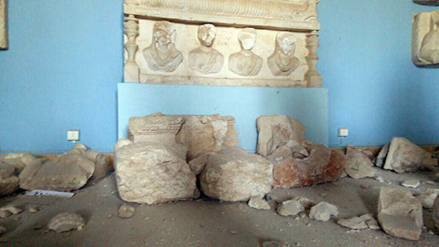 The Palmyra museum