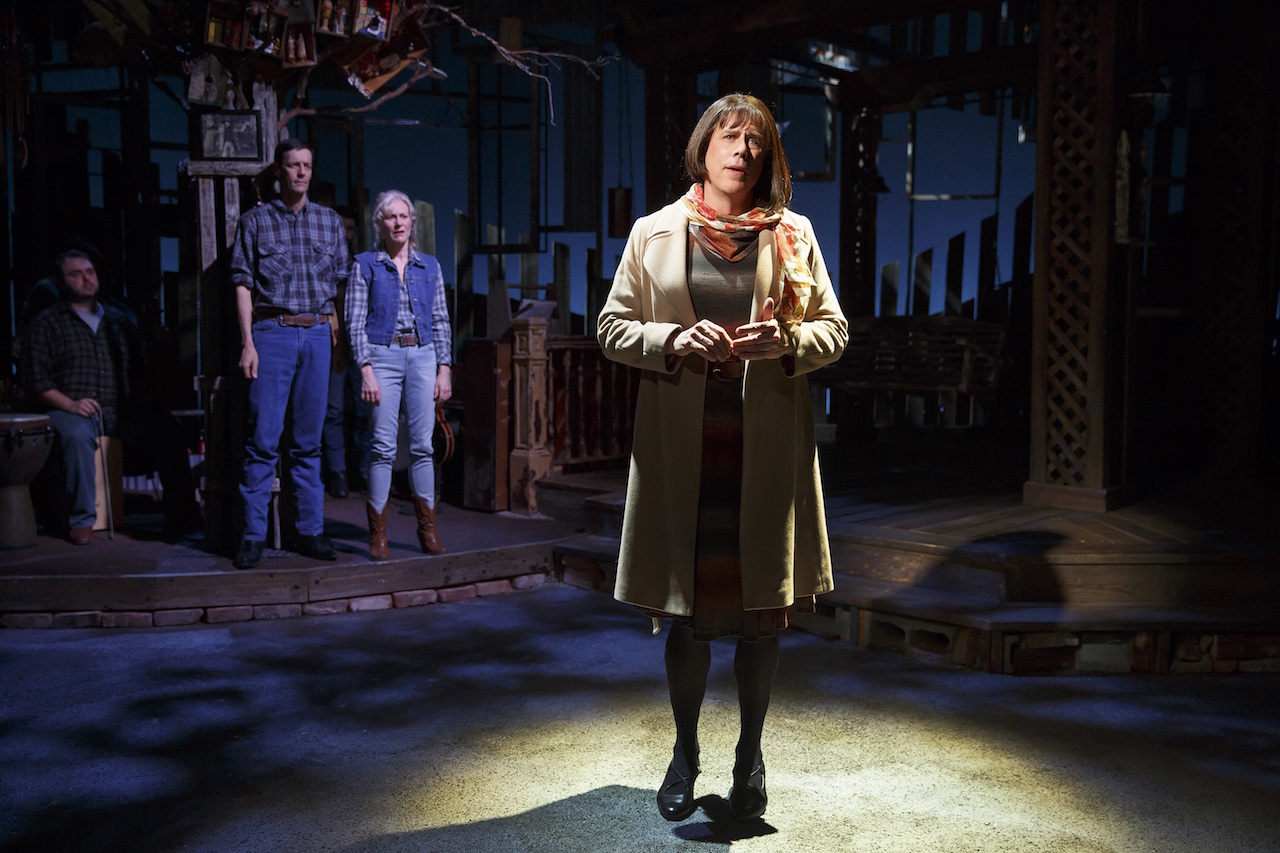 Jeff McCarthy in 'Southern Comfort' at the Public Theater (all photos by Carol Rosegg, courtesy the Public Theater)