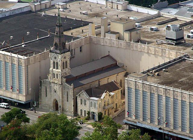 St. Joseph Catholic Church in San Antonio, Texas (via Wikimedia)