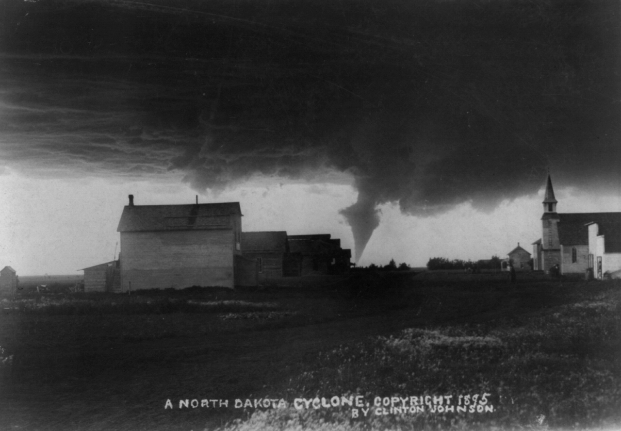 19th-Century Storm Chasers Took The First Tornado Photographs