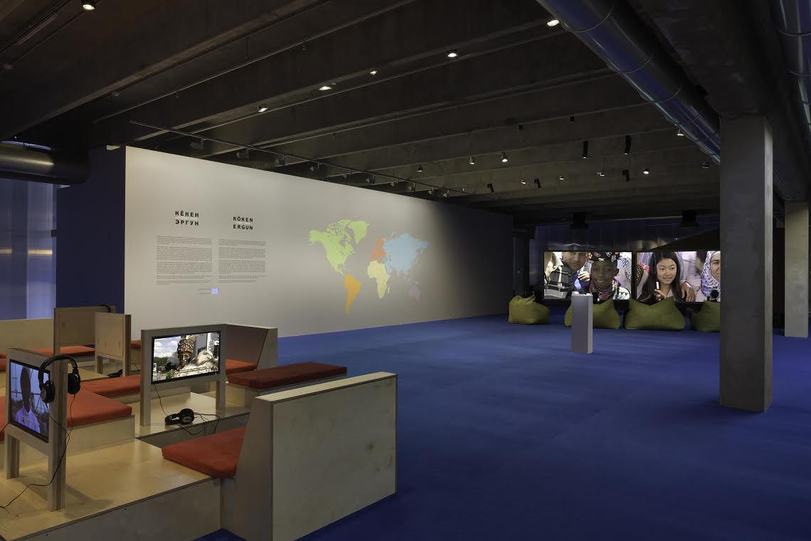 """Ergun, """"Young Turks,"""" installation view"""