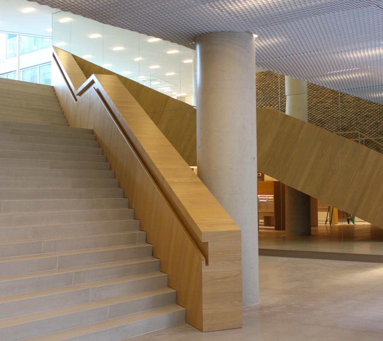 The lobby of Via 57 West