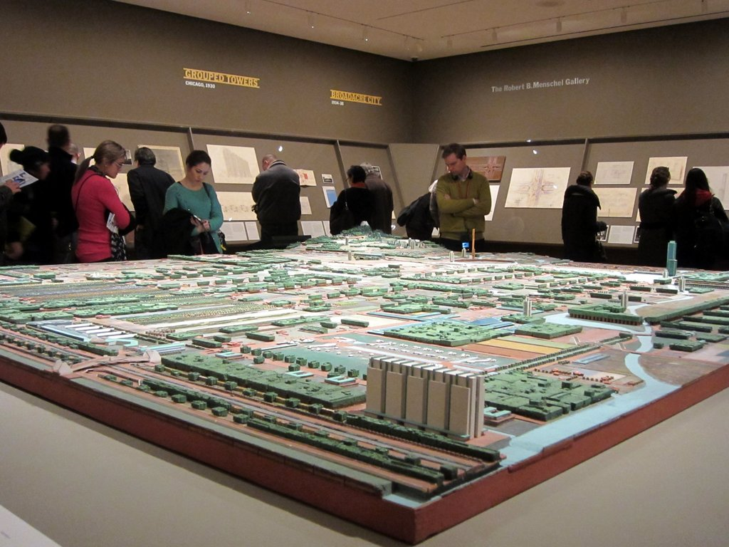 From the 2014 exhibition 'Frank Lloyd Wright and the City: Density vs. Dispersal'