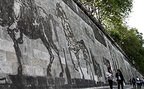 Post image for Locating William Kentridge's Massive Mural in the Roman Landscape