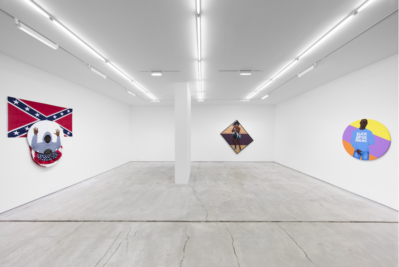 'Barkley L. Hendricks' installation view at Jack Shainman Gallery
