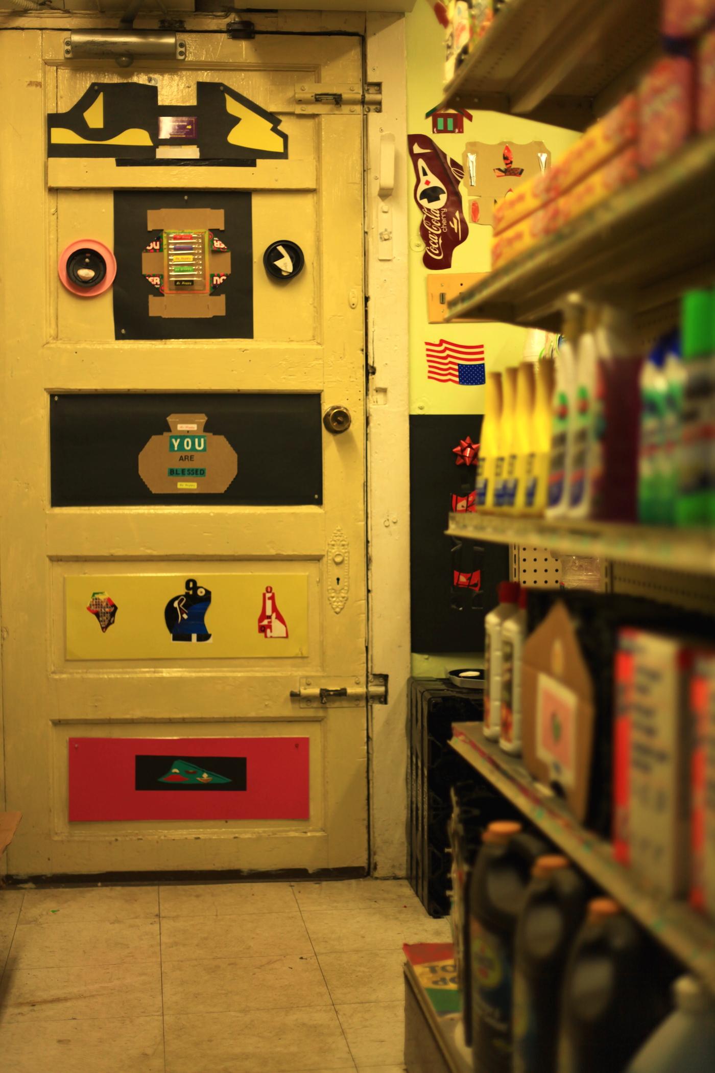 Door To The Back Room - TK