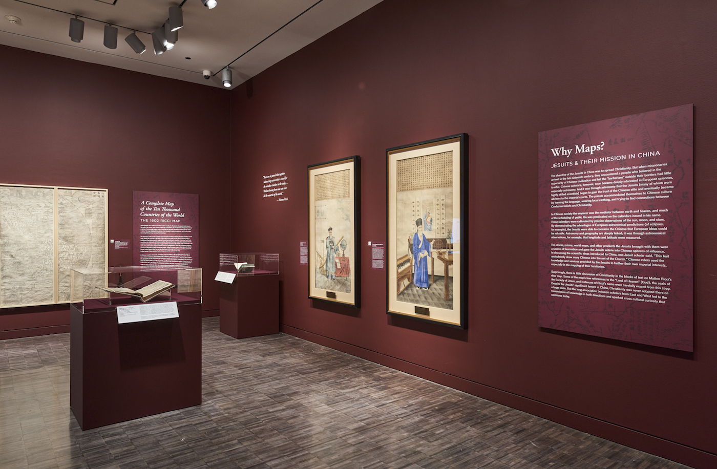 Installation view, 'China at the Center' at the Asian Art Museum (click to enlarge)