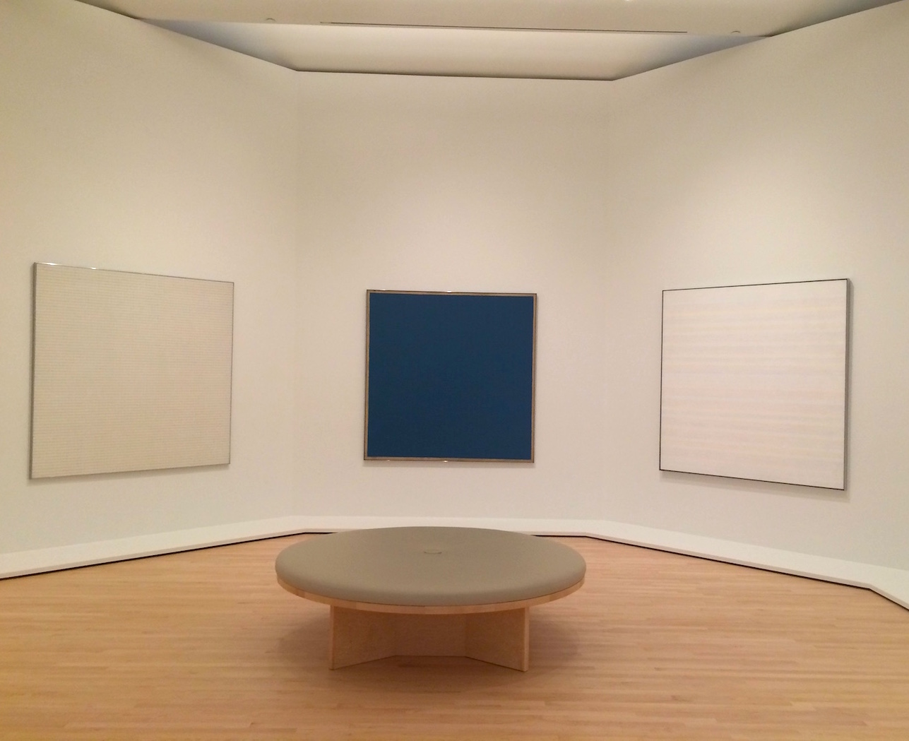 Agnes Martin's gallery