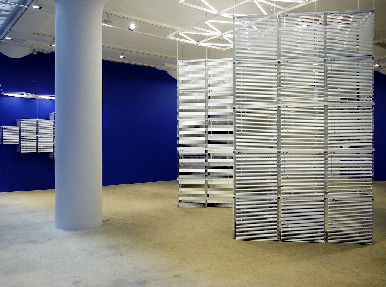 Installation view of %22Sol LeWitt Upside Down%22 series, 2016