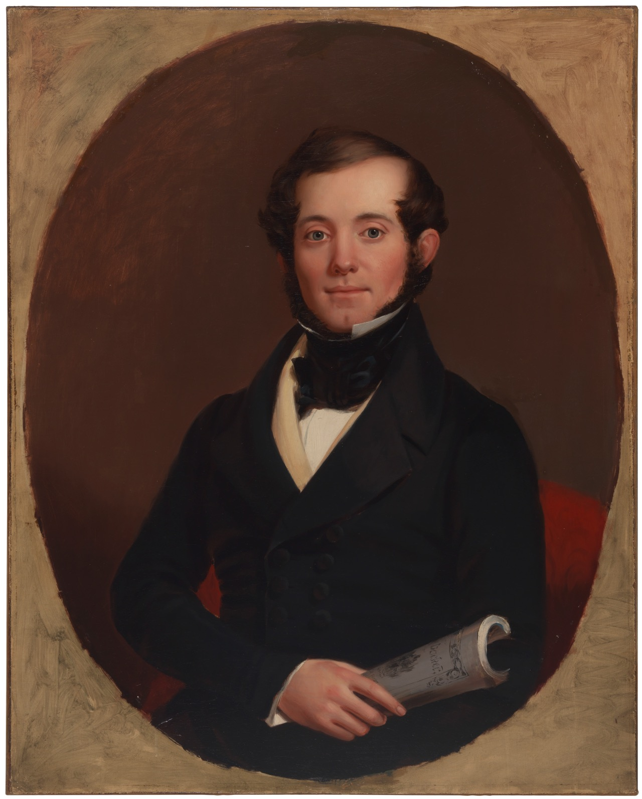 John E. Brooks, son of Henry Sands Brooks, the founder of Brooks Brothers (c. 1845)