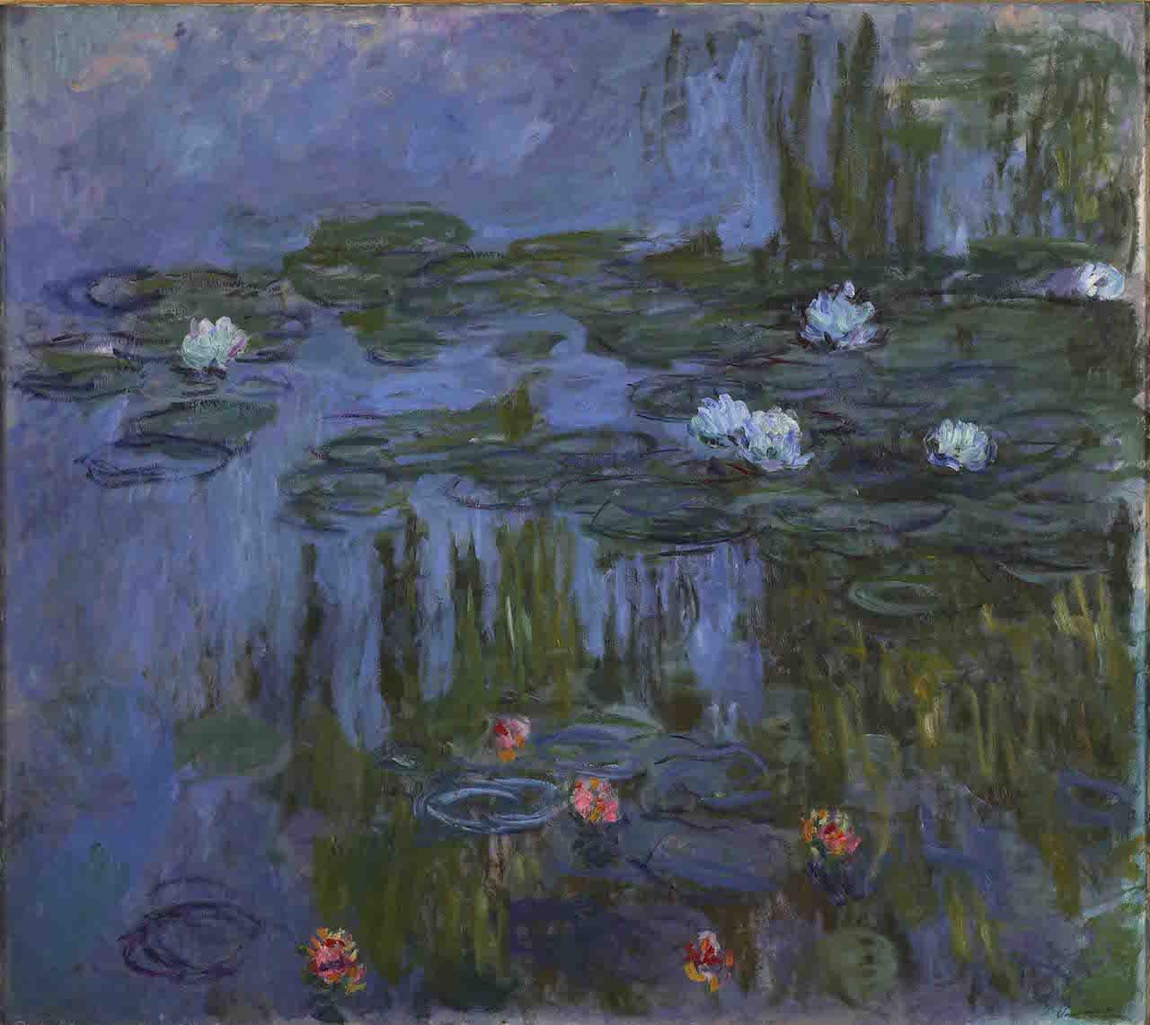 Claude Monet, Nympheas (Waterlilies), 1914-15 Oil on canvas, 160.7 x 180.3 cm Portland Art Museum, Oregon. Museum Purchase: Helen Thurston Ayer Fund, 59.16 Photo (c) Portland Art Museum, Portland, Oregon