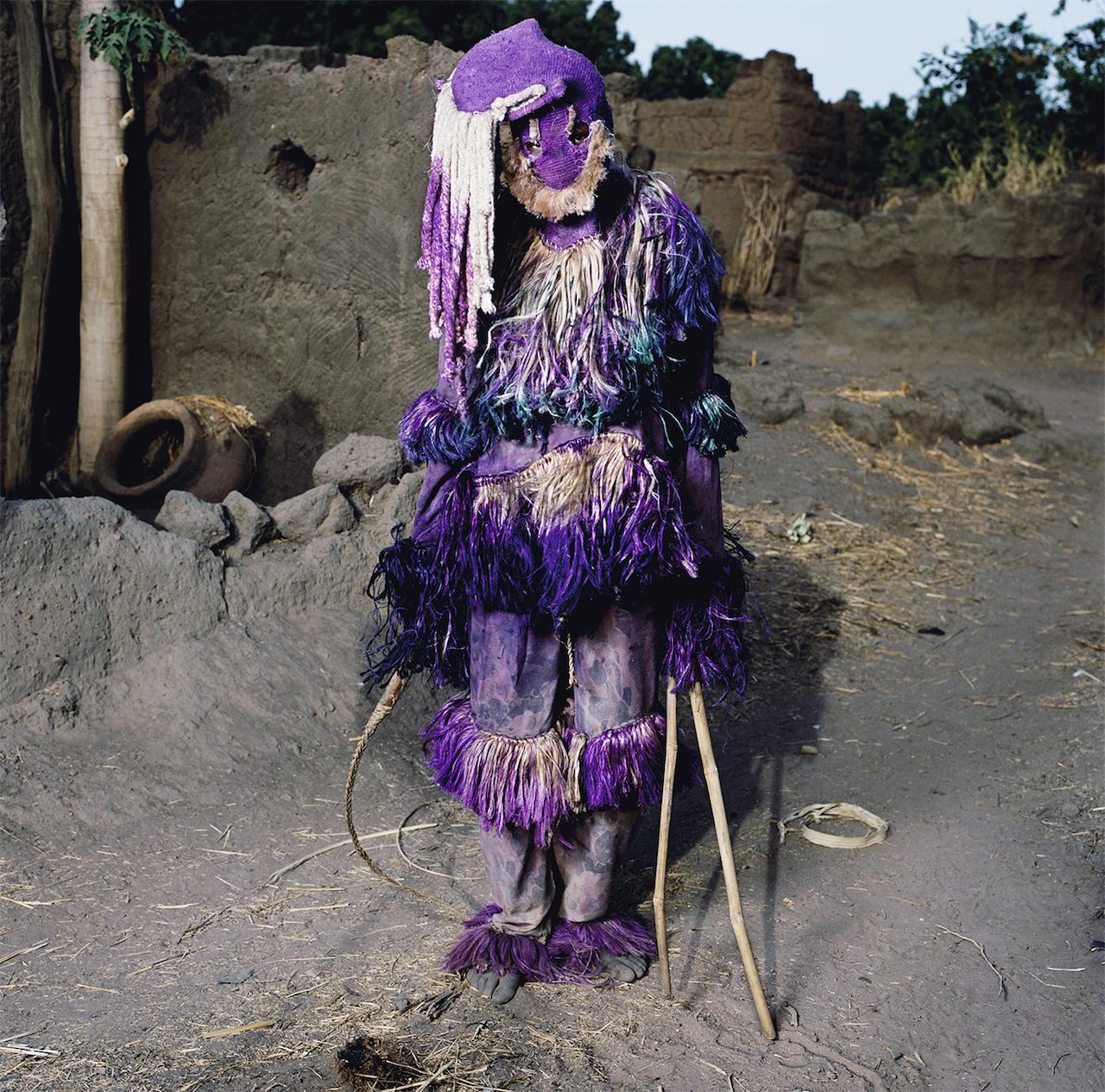 Panther Masquerade, Samaga Village, Burkina Faso 2006