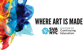 Post image for School of Visual Arts Continuing Education Summer 2016 Information Sessions