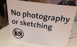"Post image for How Sketchy Is the V&A's ""No Sketching"" Policy?"