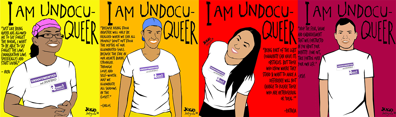 I Am UndocuQueer, Julio Salgado, 2012 (Reproduced with permission from publisher)
