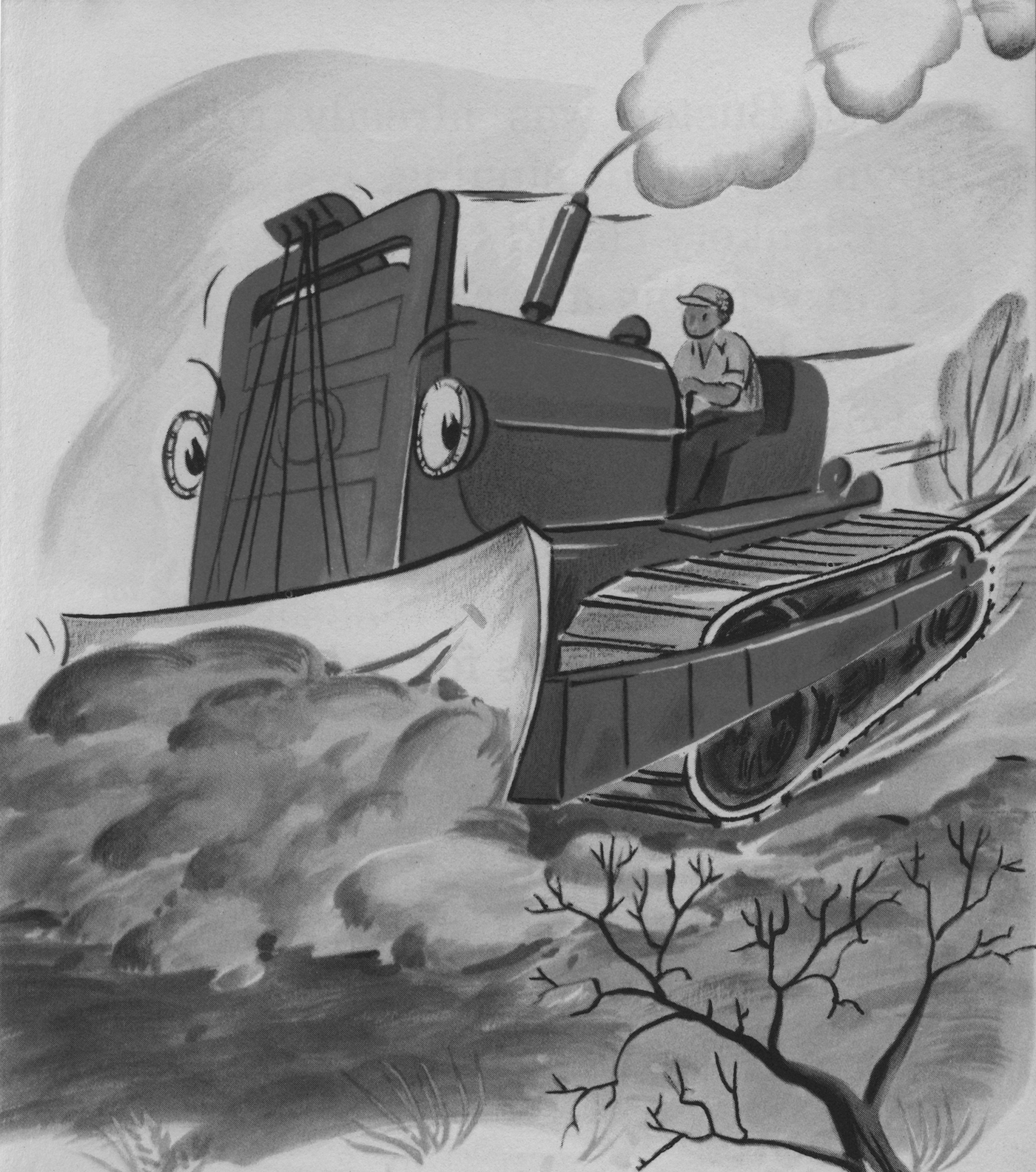 'Buster Bulldozer' book cover (courtesy Yale University Press)