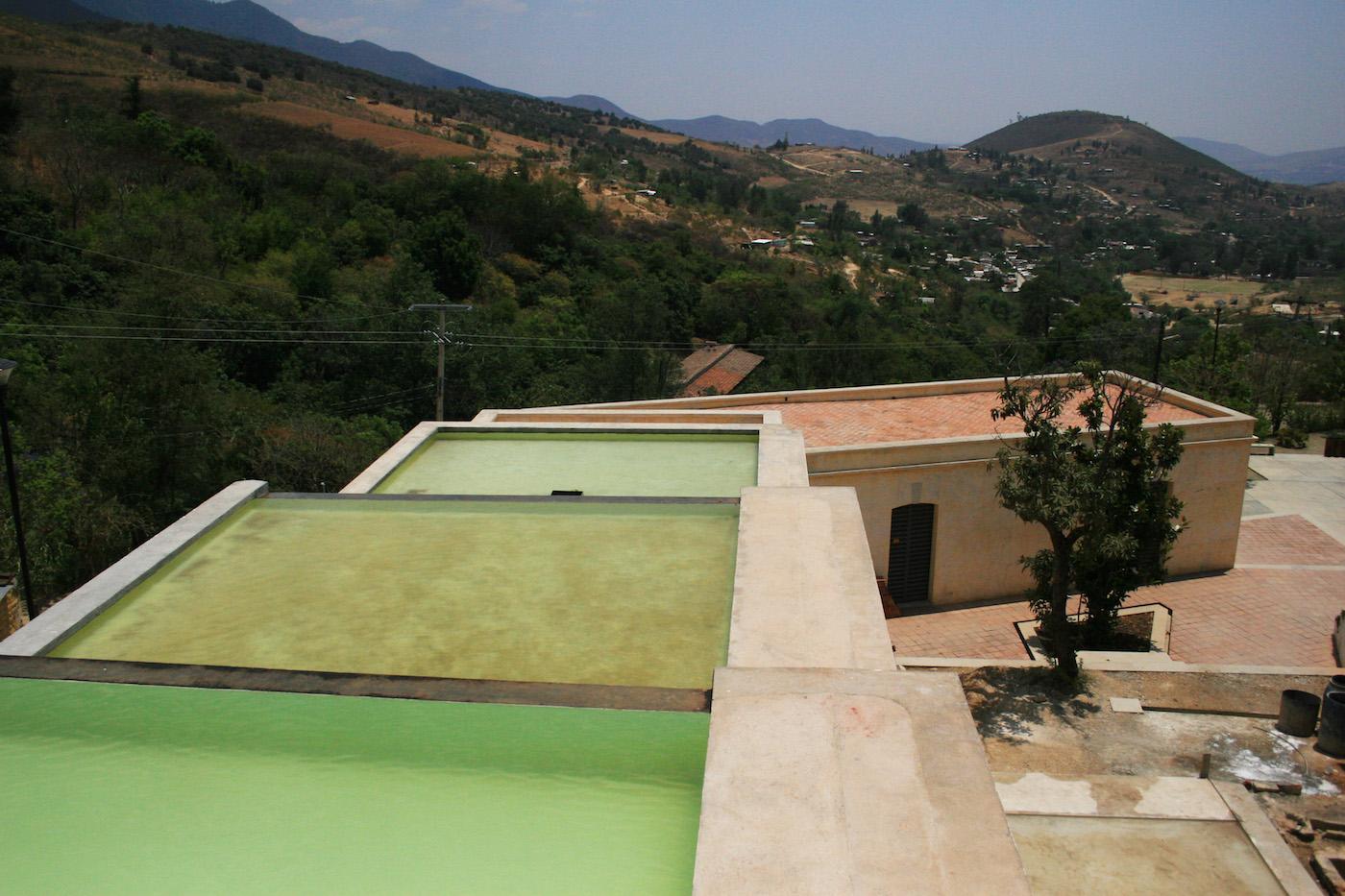 The view across the rooftops of the Centro de las Artes de San Agustín (all photos by and courtesy Rodrigo Suárez)