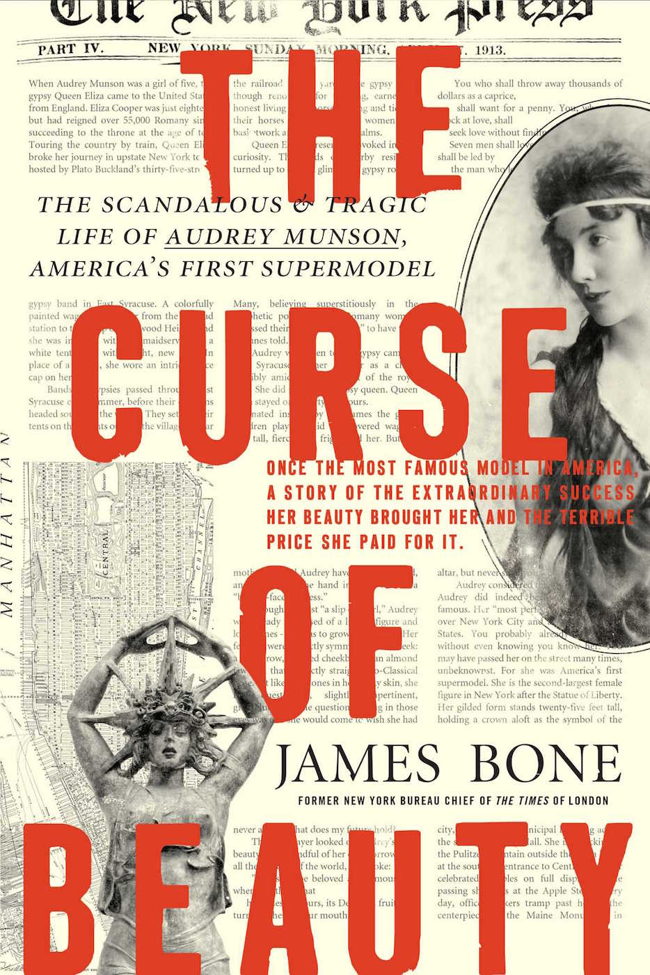 Cover of 'The Curse of Beauty' (courtesy Regan Arts)