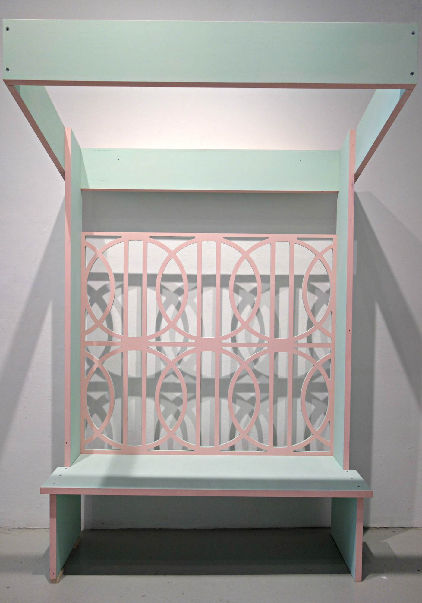 Installation view of 'Graft' by Edra Soto at Cuchifritos Gallery