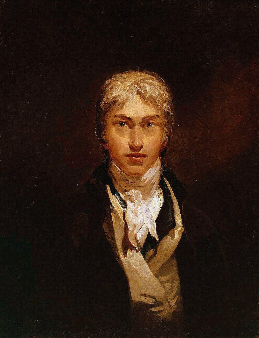 """J. M. W. Turner, """"Self-portrait"""" (1799), oil on canvas (via Tate Britain/Wikimedia)"""