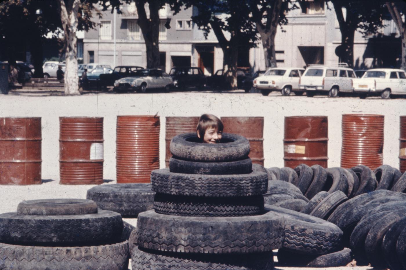 Group Ludic, Adventure playground Chalons-sur-Saône, France (1973) (courtesy of Xavier de la Salle)