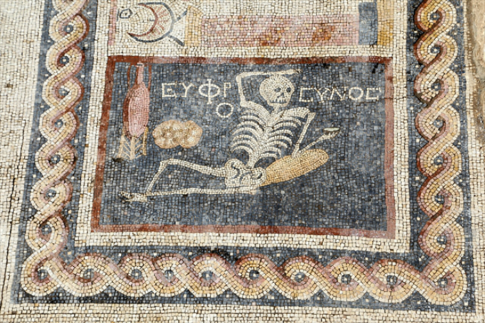 2,400 year-old mosaic discovered in Hatay, Turkey (photo by Halit Demir, © Andalou Agency)