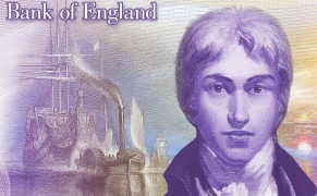 Post image for J.M.W. Turner to Light Up the British £20 Note