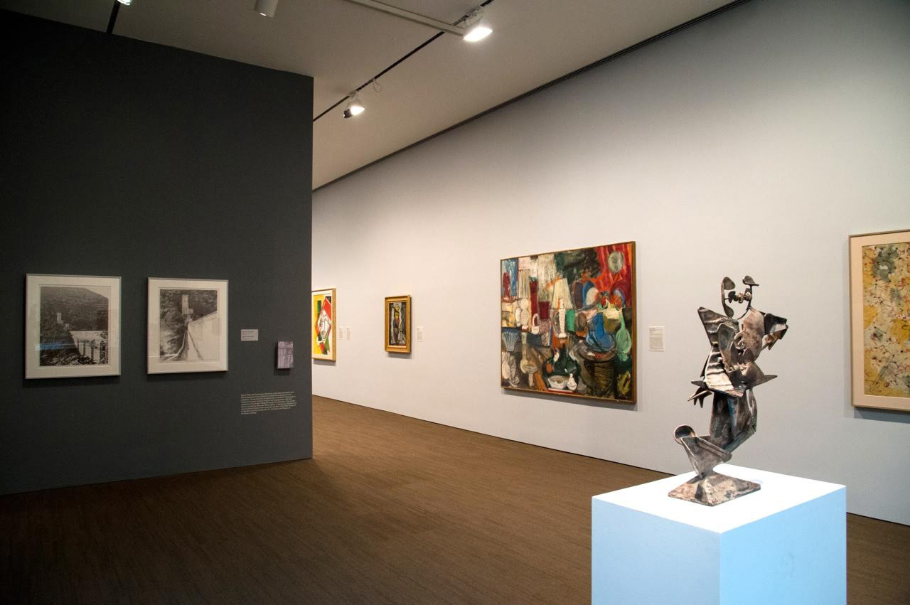 A view of the Neuberger collection at the Neuberger Museum of Art in 2014. (photo courtesy the museum)