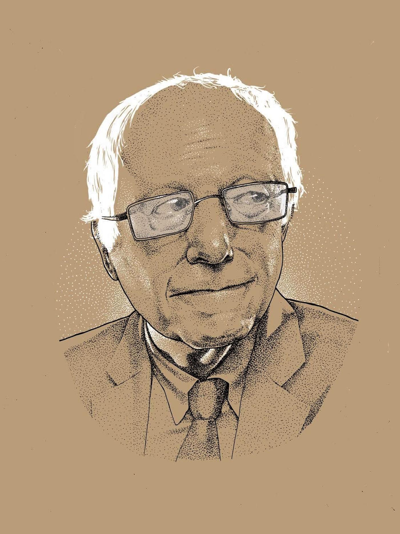 "Dave Kloc ""Bernie 2016"" (2016) (image courtesy of Bernie 2016)"