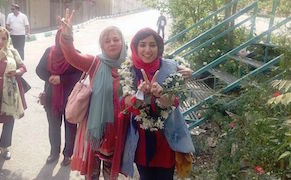 Post image for Iranian Cartoonist Atena Farghadani Released from Prison