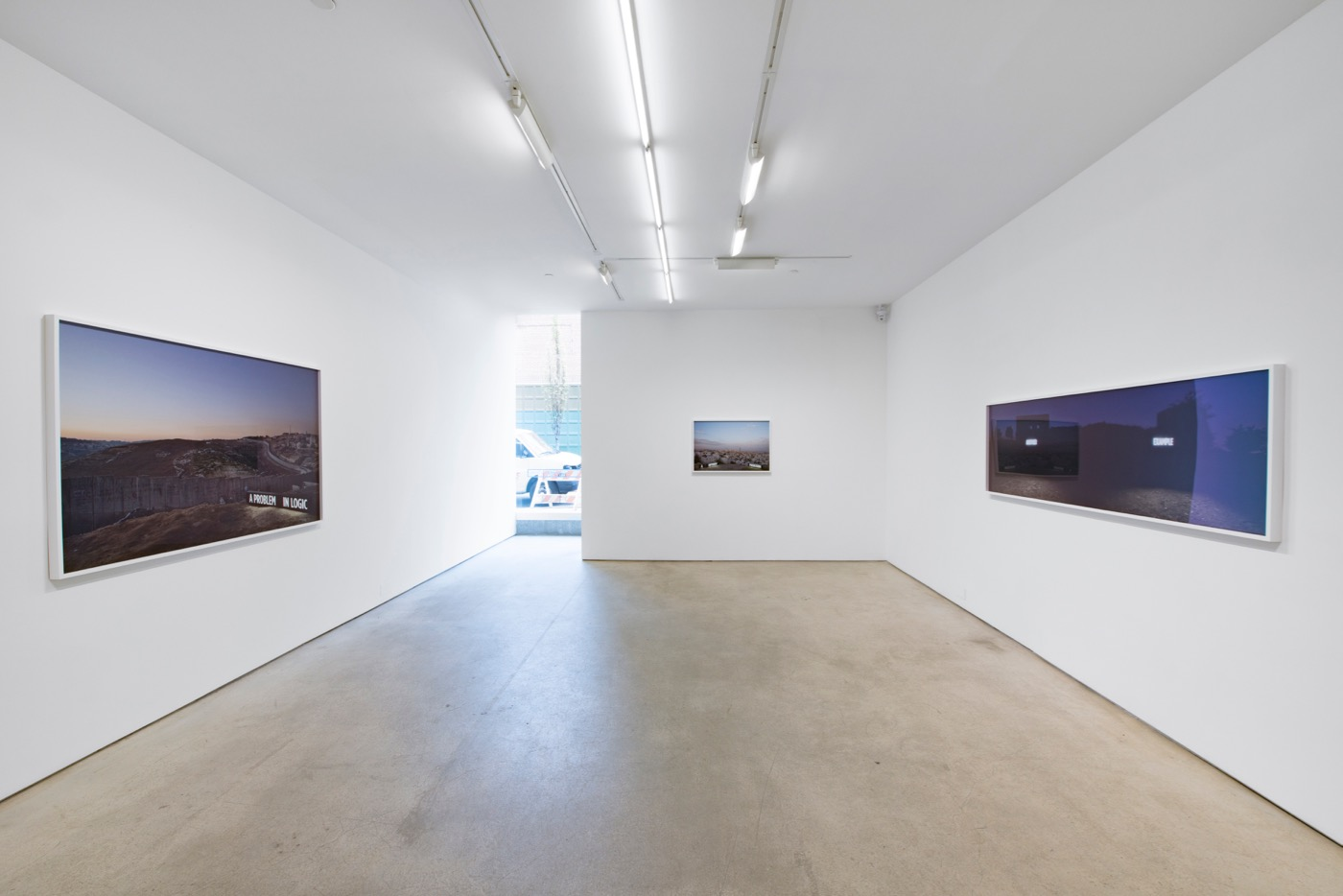 Shimon Attie, Facts on the Ground installation view (2016). Courtesy of the artist and Jack Shainman Gallery