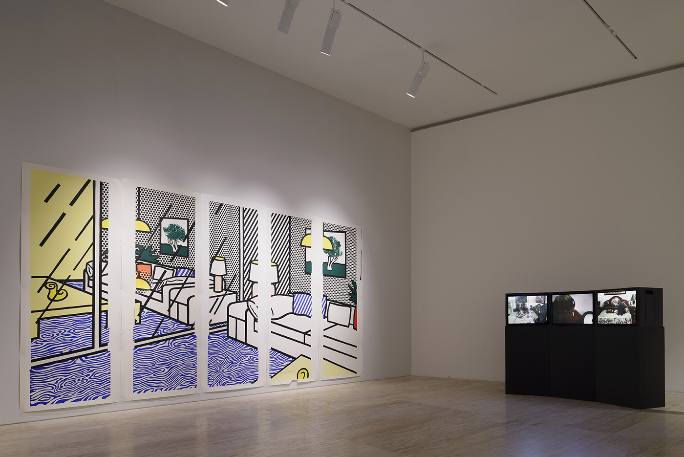 Installation view of 'The Natural Order of Things' at Museo Jumex