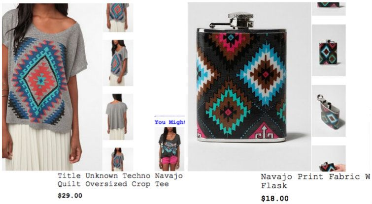 Navajo Indian Designs To Urban Outfitters Wins Partial Victory Over Navajo Nation In Trademark Dispute