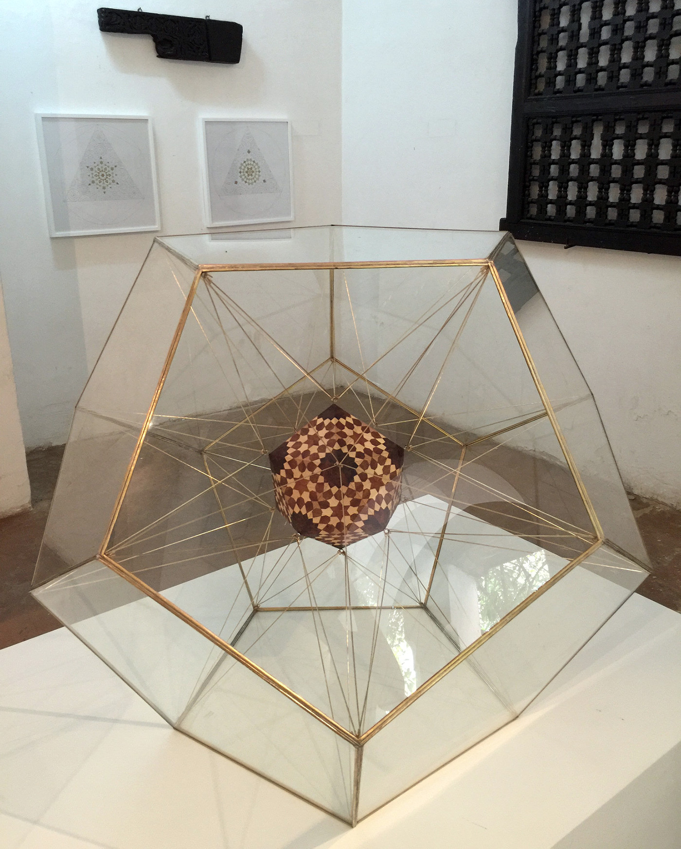 Art by Dana Awartani explores mathematical concepts
