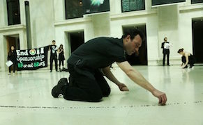 Post image for Protesters Disrupt a BP-Sponsored Exhibition at the British Museum
