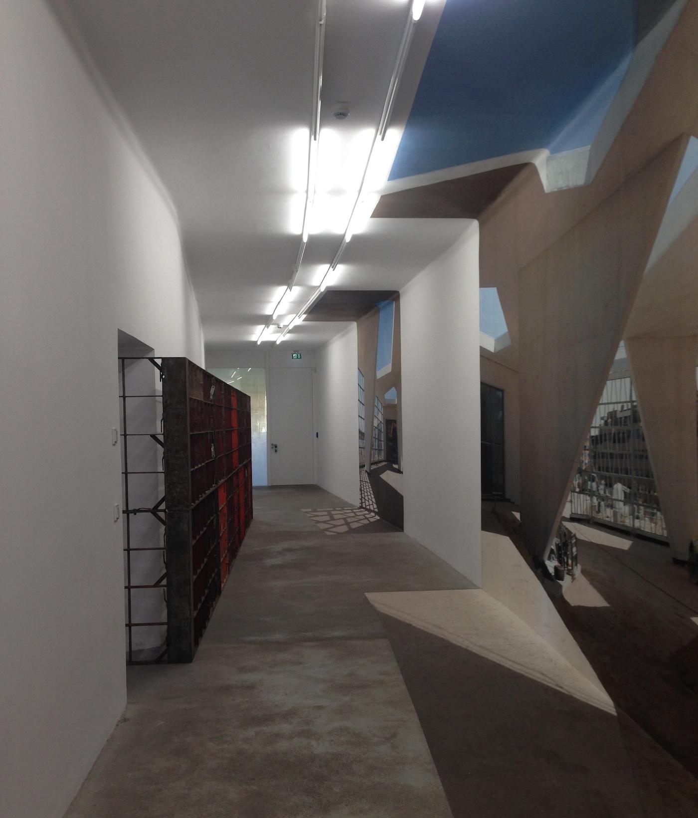 Installation view of Franka Hörnschemeyer's exhibition at Grüntuch Ernst Lab