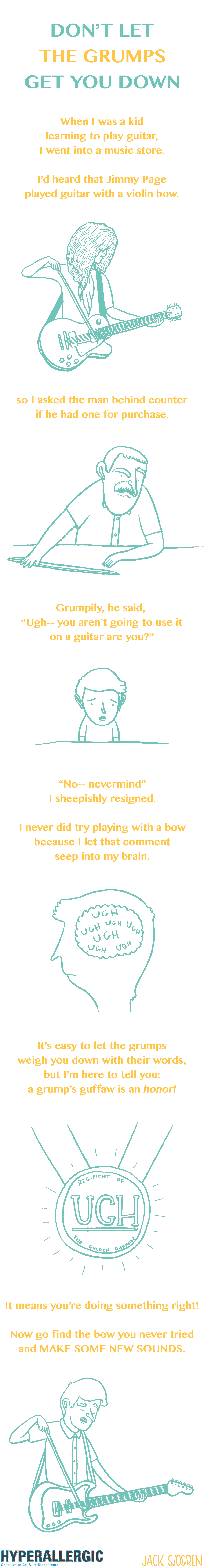 Grumps Comic