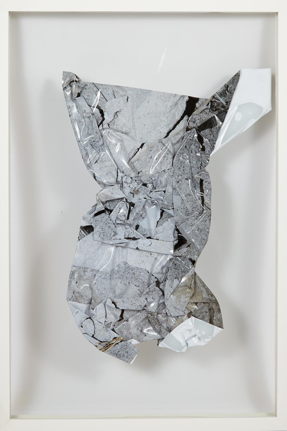 "Hiroshi Takizawa ""Figure 04"" from the Concrete Is On My Mind_Figure Series (2014). Photo courtesy of Miyako Yoshinaga, New York"