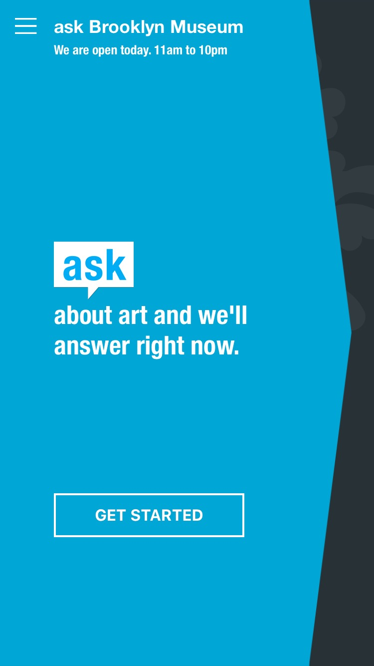 The ASK app. All photos by Brooklyn Museum photograph unless otherwise noted